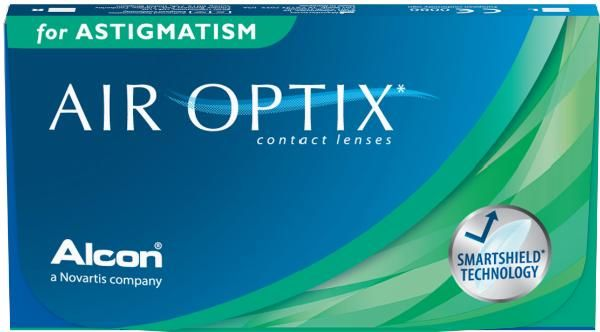 Air Optix for Astigmatism, 8.7, -10,00, -0.75, 180